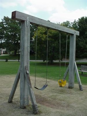 Old Timber Swing - Kite Park