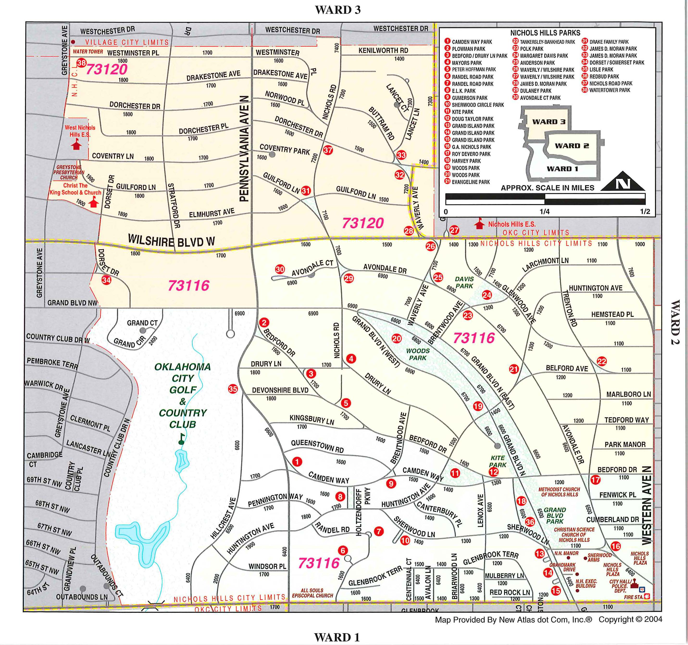 City of Nichols Hills - On-Line Maps Homepage